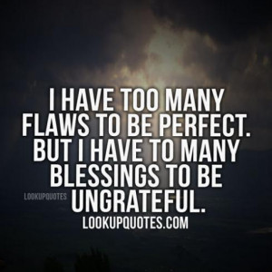 Quotes About Being Blessed