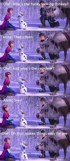 Frozen - movie quote