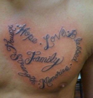 is family tattoo quotes for men family tattoo quotes for men family ...