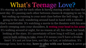 Cute Love And Sayings Kootation Funny Teenage Quotes