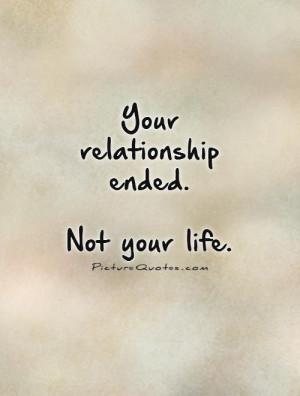 Positive Break Up Quotes