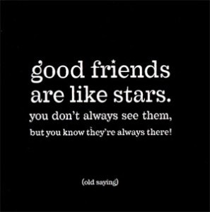 When we talk about Friends, I believe the following:
