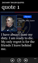 Zachary Taylor Quotes