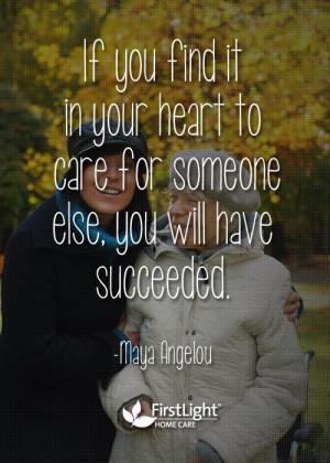 Caring is success #caregiver #quotes