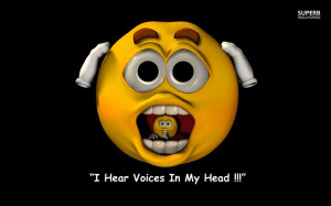 hear voices in my head wallpaper 1280x800