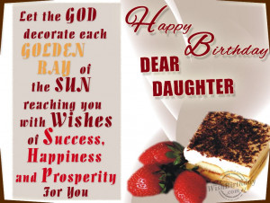 Birthday Wishes for Daughter - Birthday Cards, Greetings