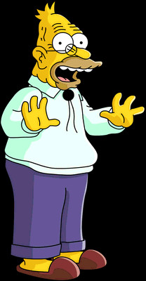 Abraham Simpson Wiki Les