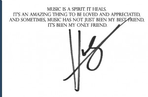 Hunter Hayes quote about music! And it's so true for me and a lot of ...