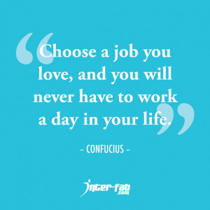 Do you love your job? =)