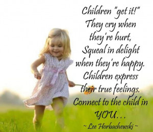 Find & nurture your inner child