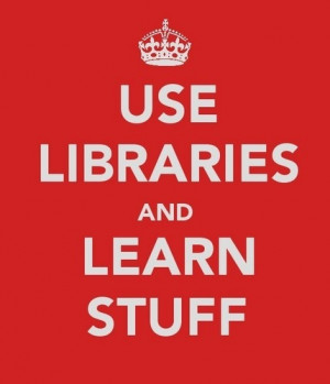 libraries. .. Couldn't say it better!