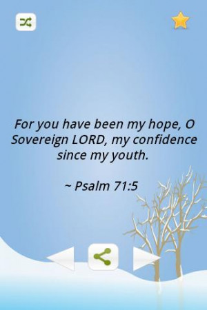 Inspiring Bible Verses-Youth - screenshot