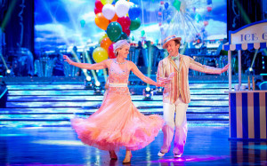 Strictly Judy Murray and Anton Du Beke danced a Viennese Waltz Photo