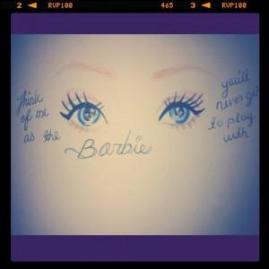 Barbie #barbie quote