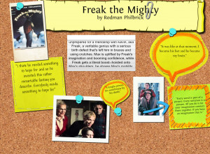 Freak the Mighty Booktalks
