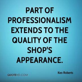 Professionalism Quotes