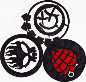 Blink182 Green Day And The Offspring Logos Picture