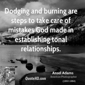 Photography Quote Ansel Adams
