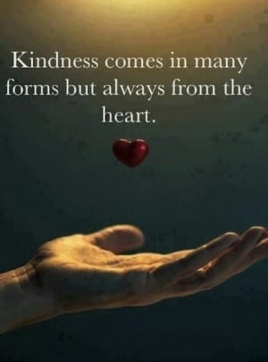 always from the heart kindness picture quotes