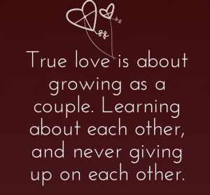 Don't give up on love quotes and sayings