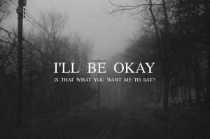 scary life text sad suicide words time kill you fine cut why sorry ok ...