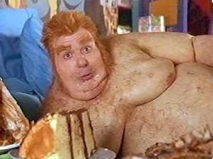 "Fat Bastard once said: ""I eat because I'm unhappy, and I'm ..."