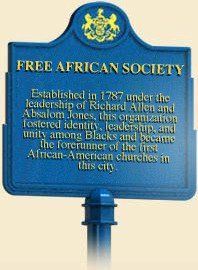 header=[Marker Text] body=[Established in 1787 under the leadership of ...