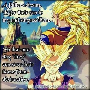 Goku and gohanNerd Stuff, Dbz Fathers, Animal Freak, Ball Universe ...