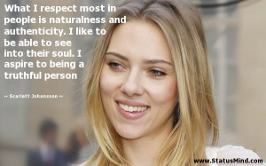 Photo found with the keywords: Scarlett Johansson quotes