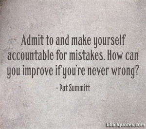 Pat Summitt Basketball Quotes