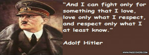 Hitler Quote Cover Comments