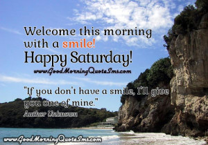 Happy Saturday Inspirational Quotes, Wishes, Messages Pictures - Good ...