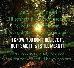 Soldier- Gavin Degraw lyricsGavin Degraw Lyrics, Songs Lyrics