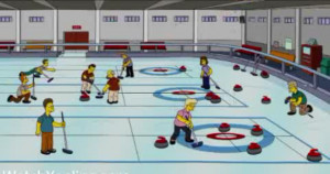 ... was also a Canadaian film called Curling for Loonies about curling
