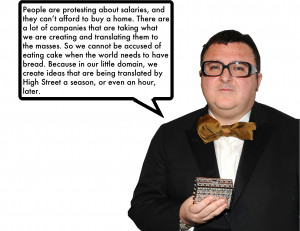 Alber Elbaz on why he thinks it's good that High Street copies his ...