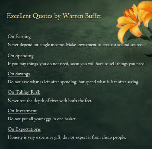 Warren Buffett ~ The world's greatest Investor. His philosophies are ...