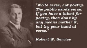 Robert w service famous quotes 4