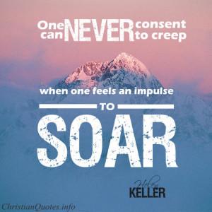 Helen Keller Quote – Impulse to Soar