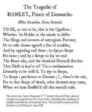 Hamlet contrast between hamlet horatio leartes