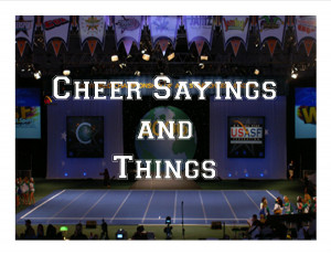 Cheer Sayings and Things!