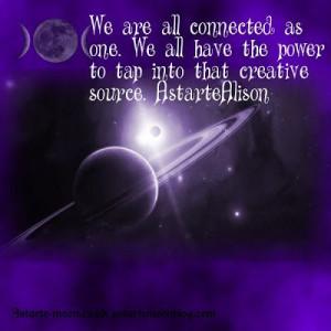 Astarte Moon Pagan Goddess Spiritual Inspiration: We all have the ...