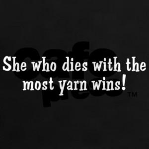funny_yarn_quote_womens_dark_tshirt.jpg?color=Black&height=460&width ...