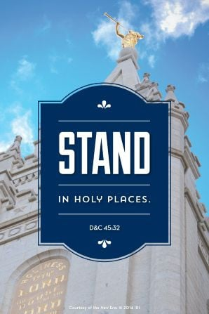 Another Wallpaper: Stand in holy places.