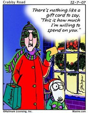 Maxine Christmas Cartoons (Part 2)