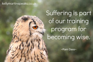 "... our training program for becoming wise."" ― Ram Dass #quote #wisdom"