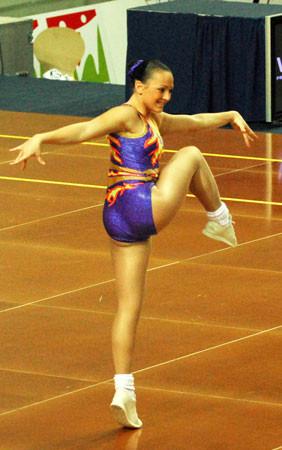 ... to the girls from all at Heathrow Aerobics Gymnastics Club