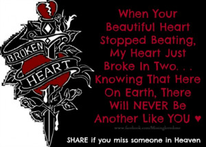 share if you miss someone in Heaven