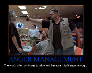 anger management movie motivational poster
