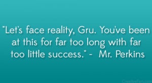 Vector From Despicable Me Quotes