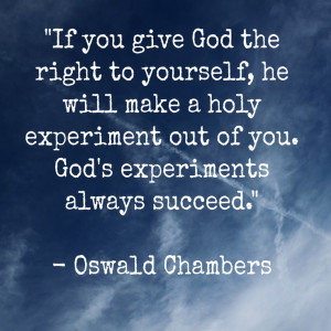 Oswald Chambers Quotes Prayer